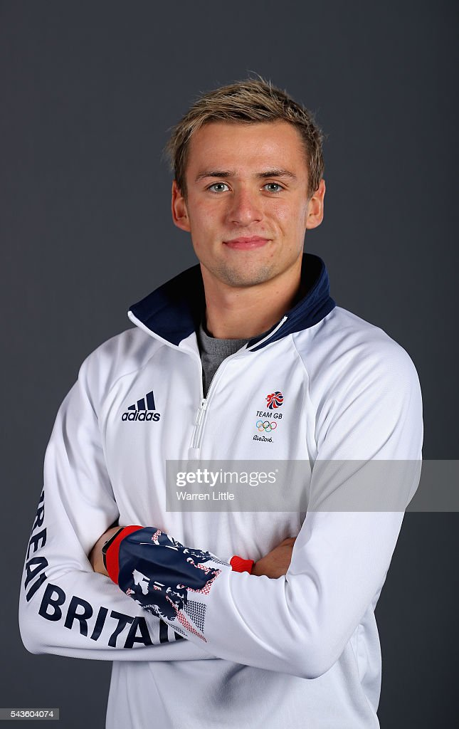 A portrait of Jack Burnell a member of the Great Britain Olympic team during the Team GB Kitting Out ahead of Rio 2016 Olympic Games on June 29, 2016 in Birmingham, England.