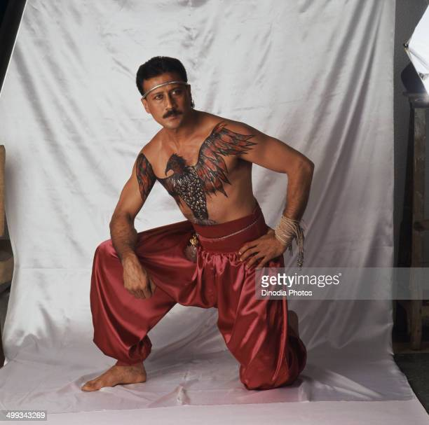 Jackie shroff stock photos and pictures getty images for Tiger shroff tattoo