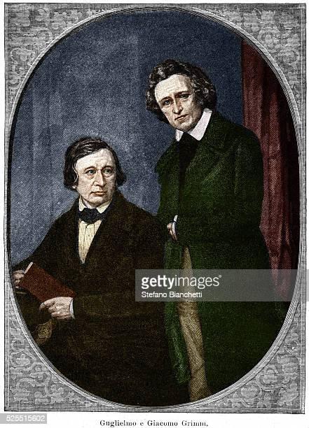 Portrait of Jacob and Wilhelm Grimm
