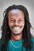 Portrait of Jamaican Man