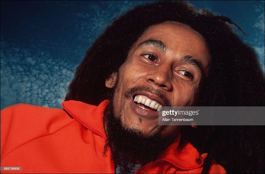 Portrait of Jamaican Reggae musician Bob Marley, New York, New York, October 1979.