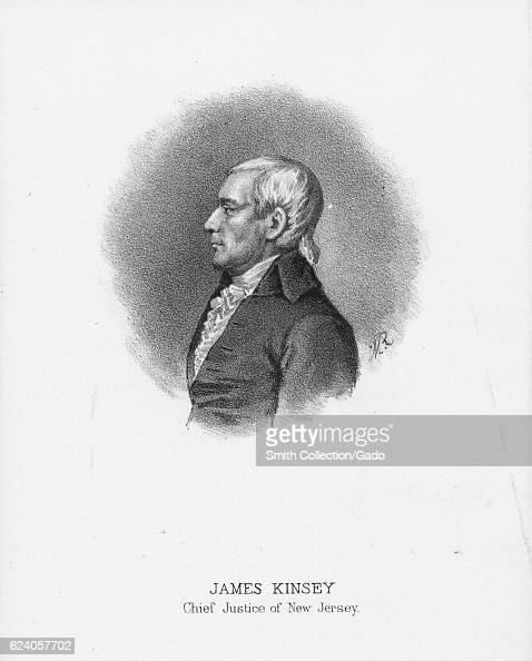 Portrait of James Kinsey former Chief Justice of New Jersey 1885 From the New York Public Library From the New York Public Library