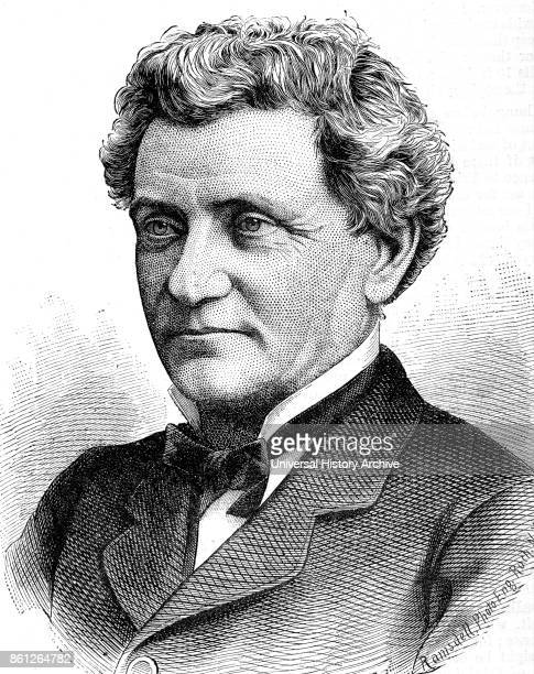 Portrait of James Vick owner of 'The Horticulturist' and the elected secretary of the Genesee Valley Horticultural Society Dated 19th Century