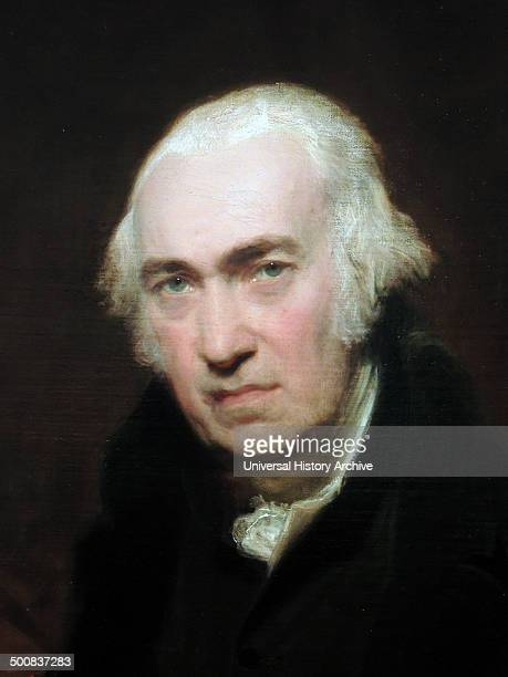 Portrait of James Watt 1812 by Sir Thomas Lawrence Oil on canvas James Watt Scottish inventor and mechanical engineer whose improvements