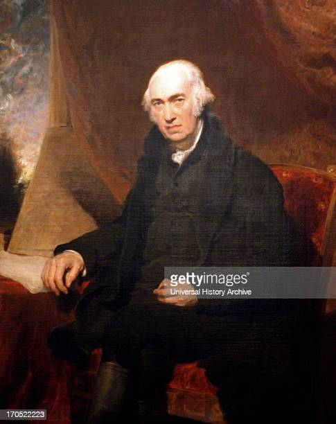 Portrait of James Watt' 1812 by Sir Thomas Lawrence
