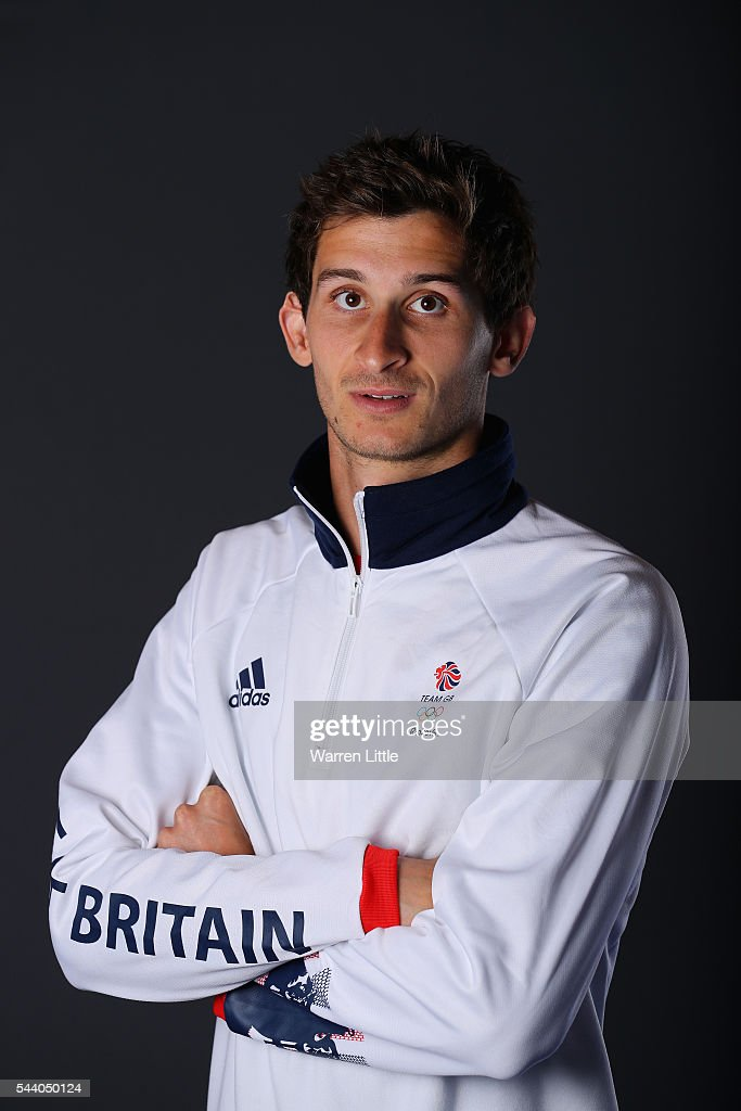 A portrait of Jamie Cooke a member of the Great Britain Olympic team during the Team GB Kitting Out ahead of Rio 2016 Olympic Games on July 1, 2016 in Birmingham, England.