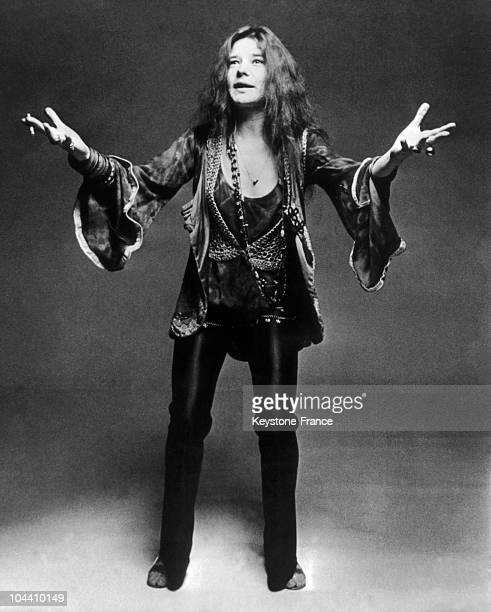 Portrait of Janis JOPLIN between 1966 and 1970