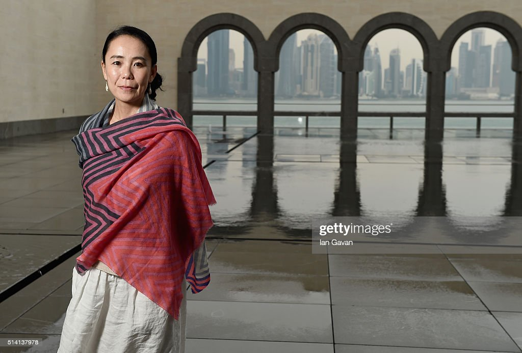 Portrait of Japanese auteur <a gi-track='captionPersonalityLinkClicked' href=/galleries/search?phrase=Naomi+Kawase&family=editorial&specificpeople=3267953 ng-click='$event.stopPropagation()'>Naomi Kawase</a> at the Museum of Islamic Art on day four of Qumra, the second edition of the industry event by the Doha Film Institute dedicated to the development of emerging filmmakers on March 7, 2016 in Doha, Qatar.