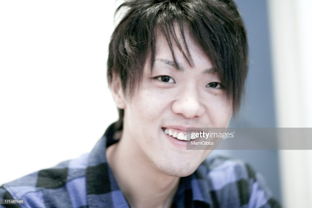 Portrait of Japanese boy : Stock Photo