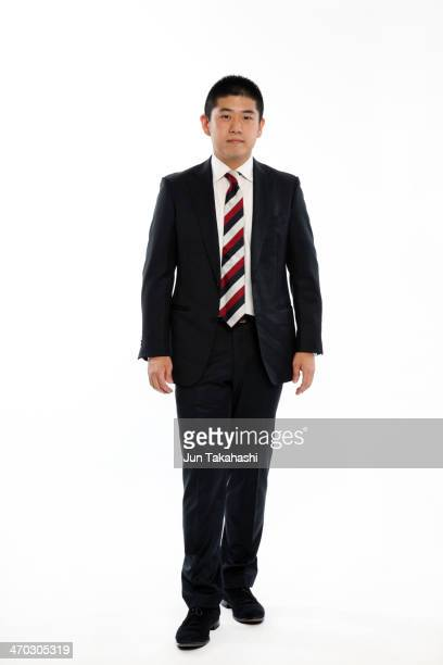 portrait of japanese business man