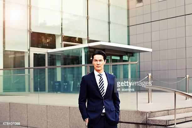 日本の実業家のポートレート、東京で