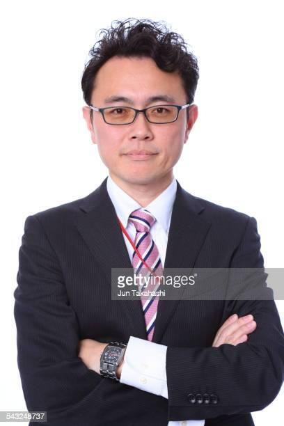 portrait of Japanese businessman