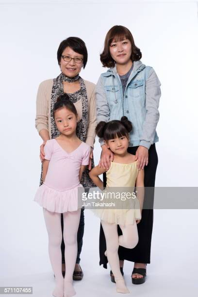 portrait of Japanese family