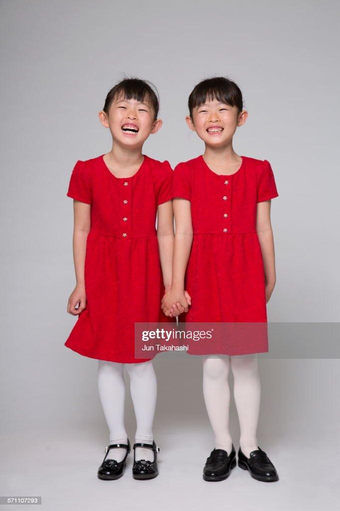 portrait of Japanese girls : Stock Photo