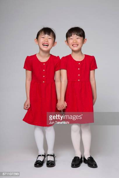 portrait of Japanese girls