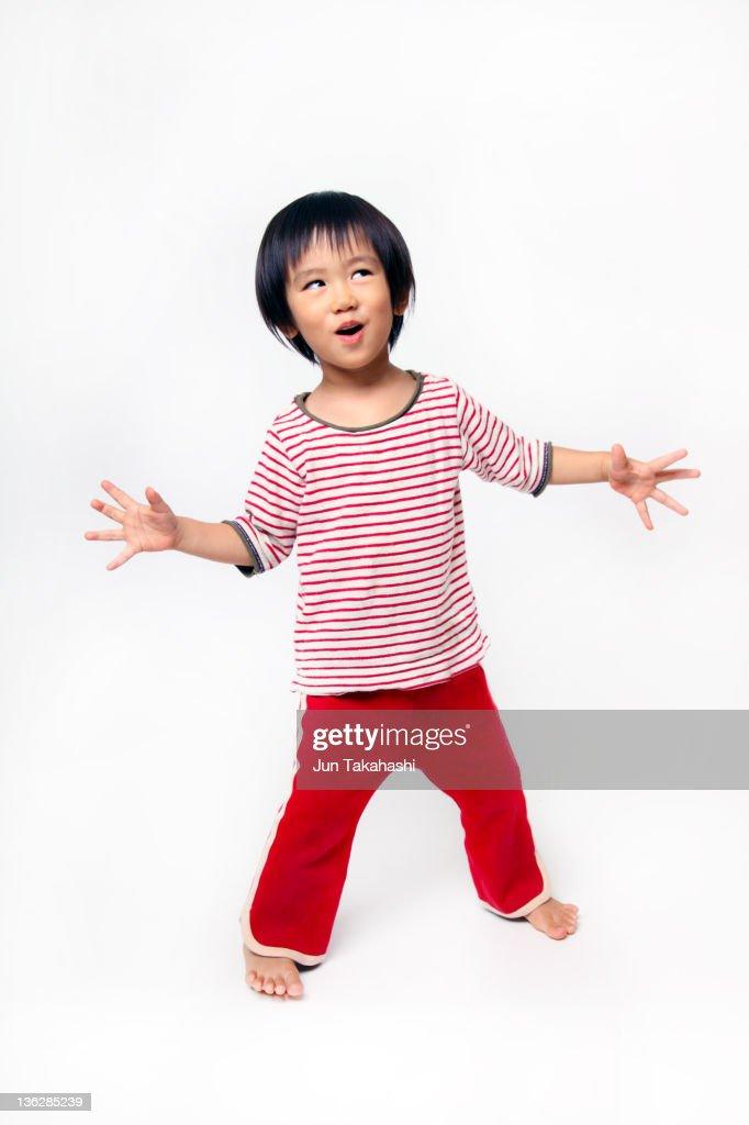 Portrait of Japanese kid : Stock Photo