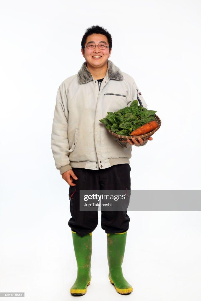 portrait of Japanese man : Stock Photo
