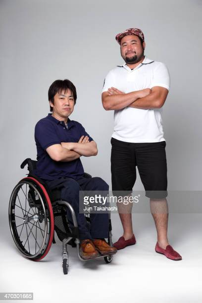 Portrait of Japanese men