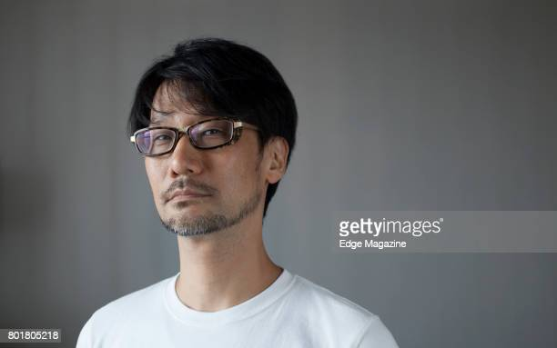 Portrait of Japanese video game designer Hideo Kojima photographed at the Develop conference in Brighton England on July 13 2016