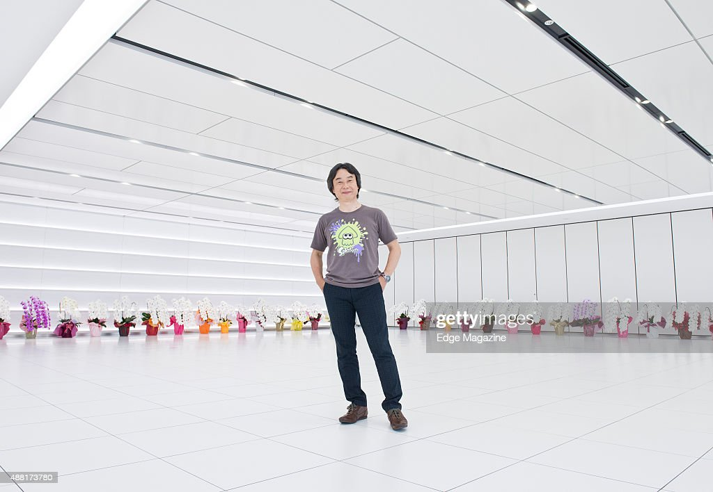 Portrait of Japanese video games designer and producer Shigeru Miyamoto, photographed at Nintendo headquarters in Kyoto, Japan, on July 25, 2014. Miyamoto is best known as the creator of game franchises such as Super Mario and The Legend Of Zelda.