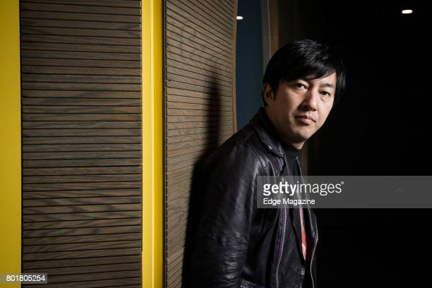 Portrait of Japanese video games designer Goichi Suda photographed at ExCeL in London on October 28 2016 Suda is also the CEO of Grasshopper...