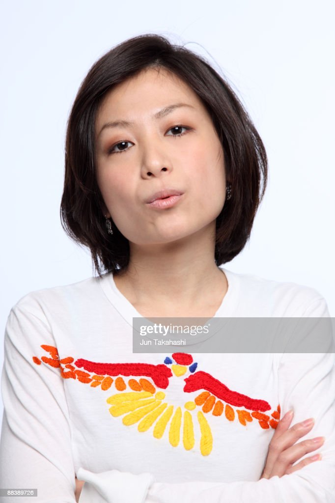 Portrait of Japanese woman : Stock Photo