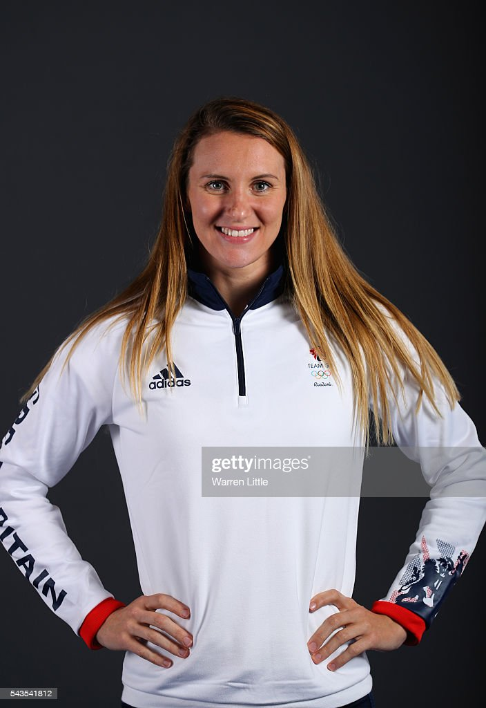 A portrait of Jazz Carlin a member of the Great Britain Olympic team during the Team GB Kitting Out ahead of Rio 2016 Olympic Games on June 29, 2016 in Birmingham, England.