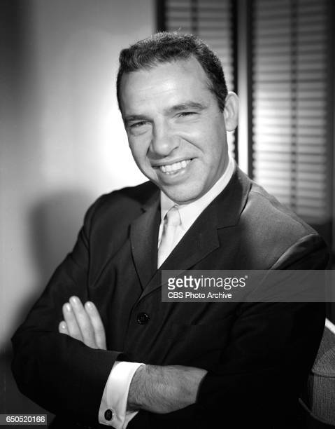 Portrait of jazz drummer and bandleader Buddy Rich He portrays the character Cozy in the CBS television situation comedy program Marge and Gower...