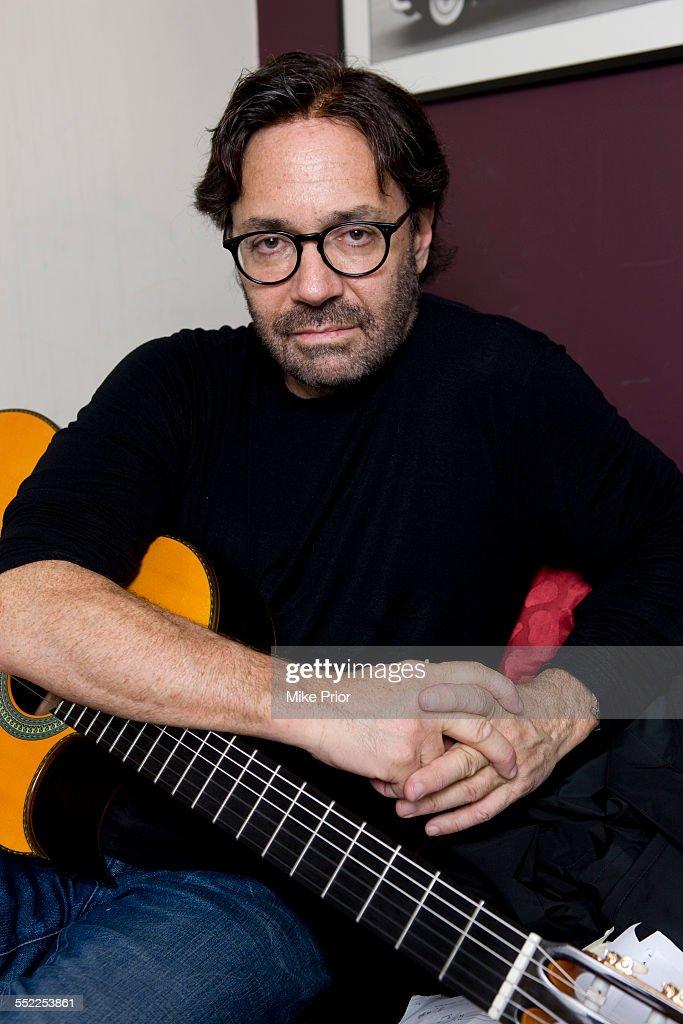 Portrait of jazz guitarist <a gi-track='captionPersonalityLinkClicked' href=/galleries/search?phrase=Al+Di+Meola&family=editorial&specificpeople=4457078 ng-click='$event.stopPropagation()'>Al Di Meola</a>, United Kingdom, 11th June 2013.