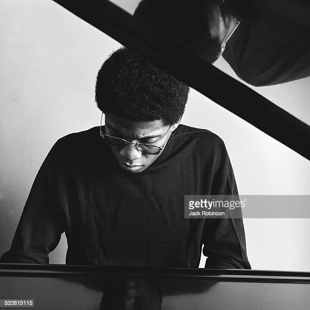 Portrait of jazz pianist Herbie Hancock November 22 1968