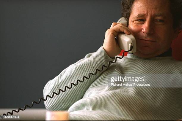 Portrait of Jean Todt Ferrari Sports Director
