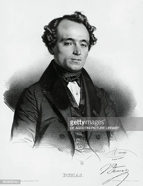 Portrait of JeanBaptisteAndre Dumas French chemist and politician engraving