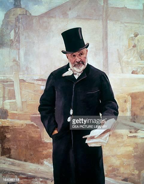 Portrait of JeanCharles Adolphe Alphand French engineer Oil on canvas by Alfred Philippe Roll Paris Petit Palais Musée Des BeauxArts De La Ville De...