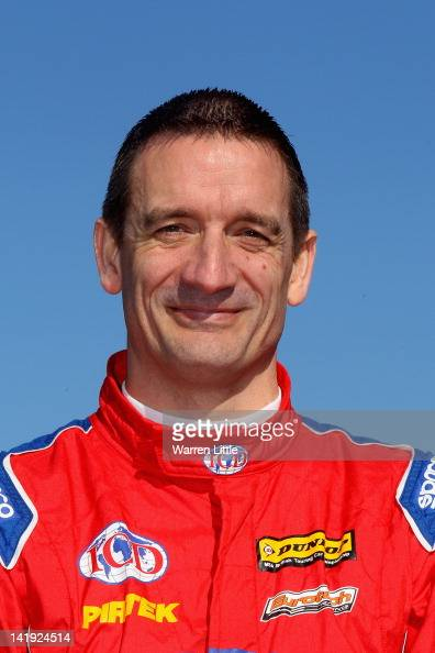A portrait of Jeff Smith of Great Britain and Pirtek Racing during the BTCC media day at Silverstone Circuit on March 19 2012 in Northampton England