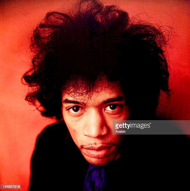 Portrait of Jimi Hendrix from 1968