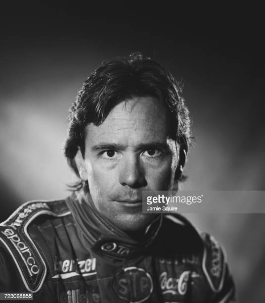A portrait of Jimmy Vasser of the United States driver of the Target Chip Ganassi Racing Lola B2K/00 Toyota RVA during testing for the Championship...