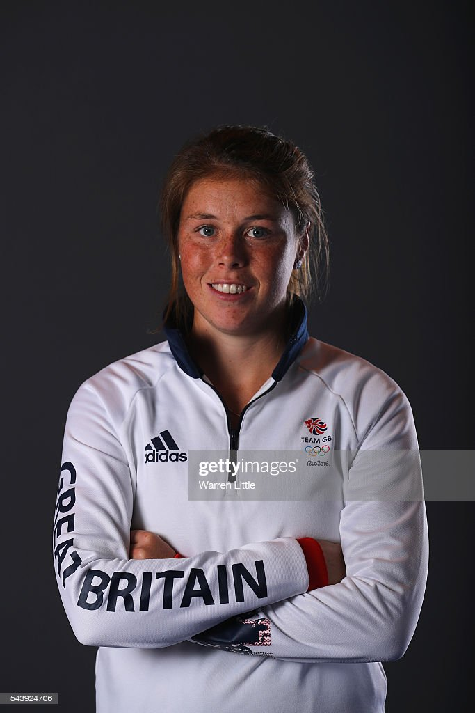 A portrait of Joanna Leigh a member of the Great Britain Olympic team during the Team GB Kitting Out ahead of Rio 2016 Olympic Games on June 30, 2016 in Birmingham, England.