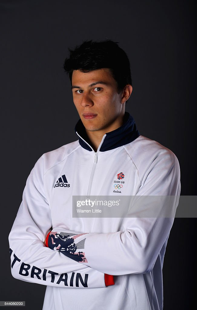 A portrait of Joe Choong a member of the Great Britain Olympic team during the Team GB Kitting Out ahead of Rio 2016 Olympic Games on July 1, 2016 in Birmingham, England.