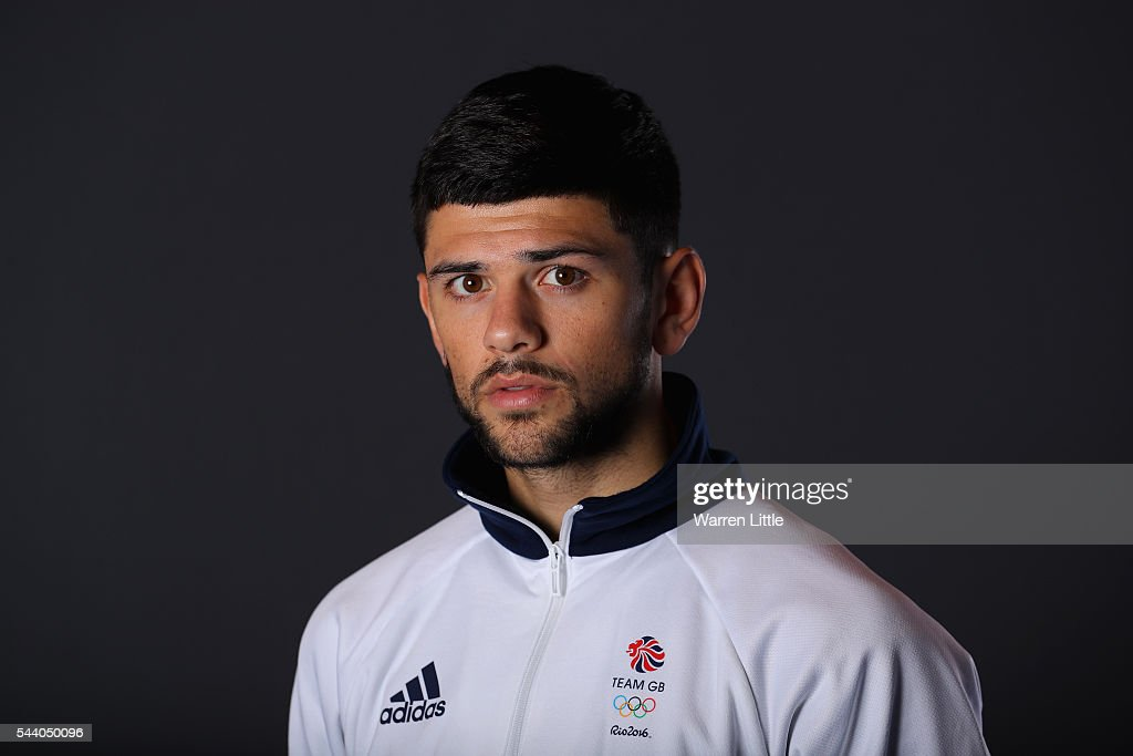 A portrait of Joe Cordina a member of the Great Britain Olympic team during the Team GB Kitting Out ahead of Rio 2016 Olympic Games on July 1, 2016 in Birmingham, England.