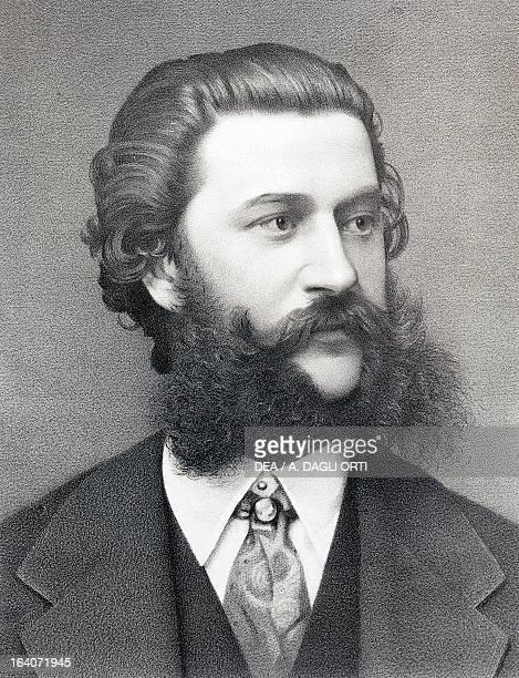 Portrait of Johann Strauss Austrian composer and conductor Vienna Historisches Museum Der Stadt Wien