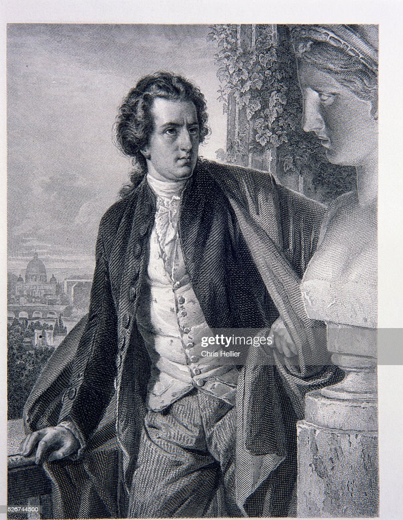 Portrait of <a gi-track='captionPersonalityLinkClicked' href=/galleries/search?phrase=Johann+Wolfgang+von+Goethe&family=editorial&specificpeople=98976 ng-click='$event.stopPropagation()'>Johann Wolfgang von Goethe</a> in Rome
