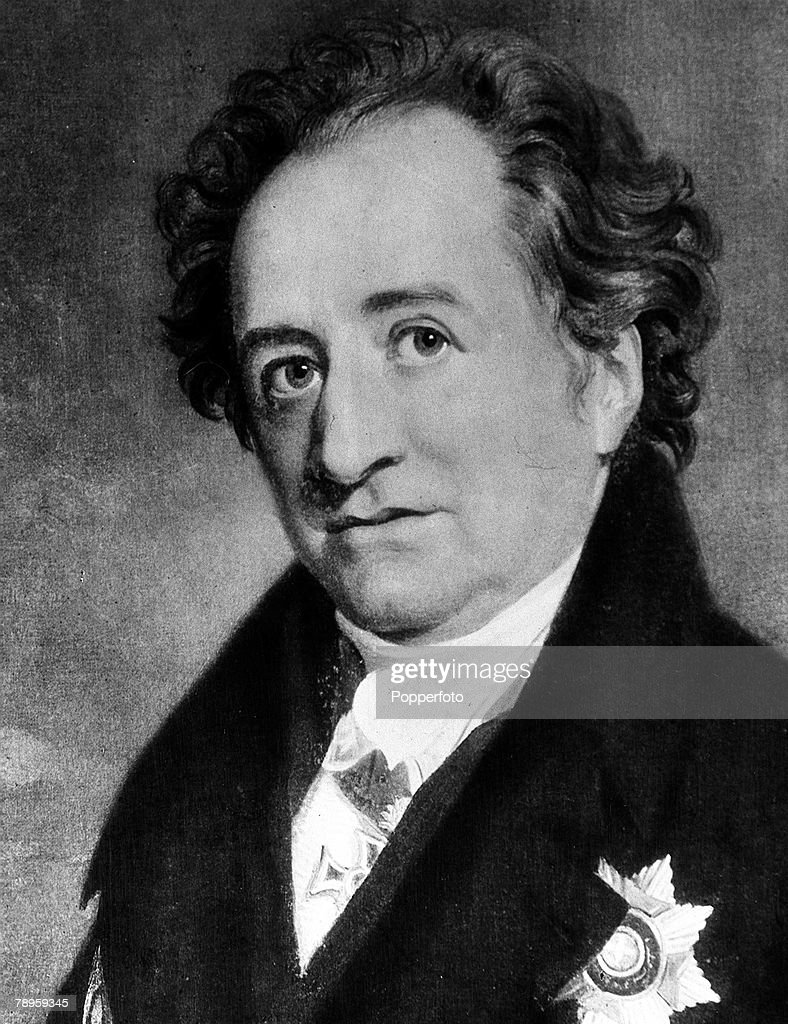 A portrait of <b>Johann Wolfgang</b> von Goethe (1749-1832), the German poet - portrait-of-johann-wolfgang-von-goethe-the-german-poet-novelist-and-picture-id78959345