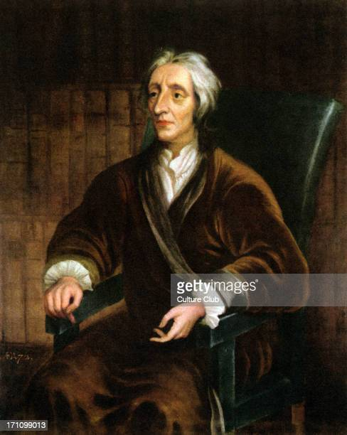 Portrait of John Locke seated Copy of original by Sir Godfrey Kneller 16461723 JL British empiricist philosopher 29 August 1632 28 October 1704