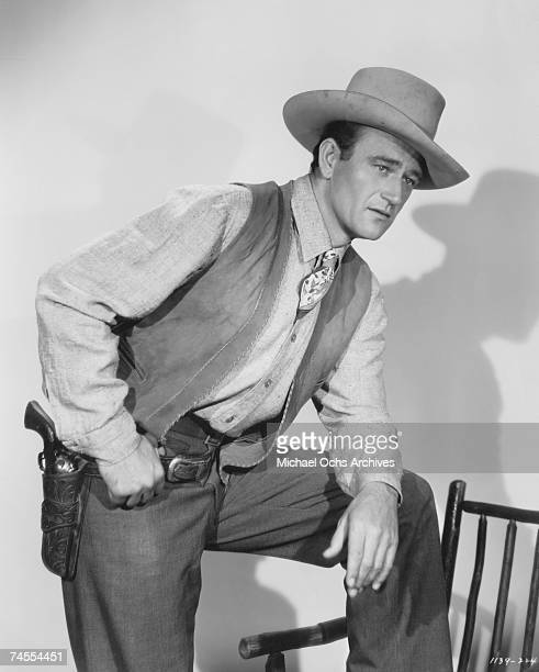 Portrait of John Wayne circa 1939 in Los Angeles California