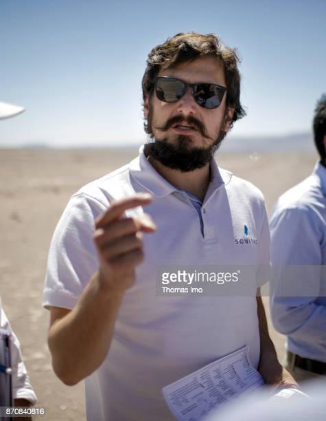 Portrait of Jose Luis Valenzuela A Managing Director of Sowitec a wind power developer in the Atacama Desert on October 17 2017 in Atacama Desert...