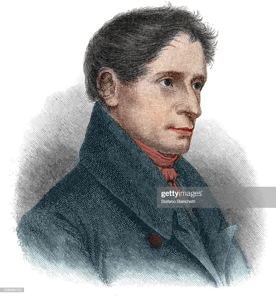 Portrait of <b>Joseph Karl</b> Benedikt von Eichendorff (1788-1857), ... - portrait-of-joseph-karl-benedikt-von-eichendorff-german-poet-and-picture-id526264722