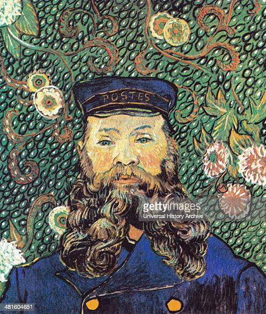 Portrait of Joseph Roulin 1889 Vincent van Gogh MoMA