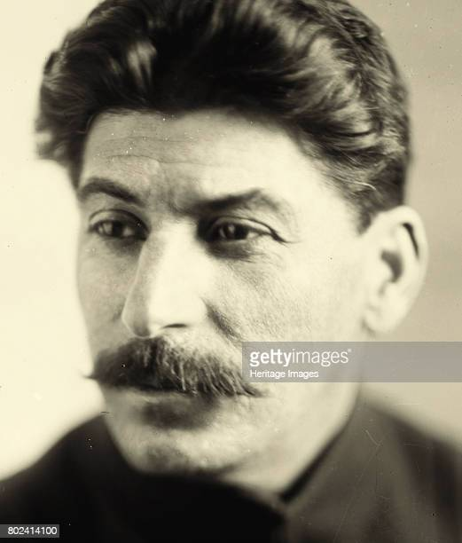 Portrait of Joseph Stalin ca 1928 Found in the collection of State Museum of Revolution Moscow