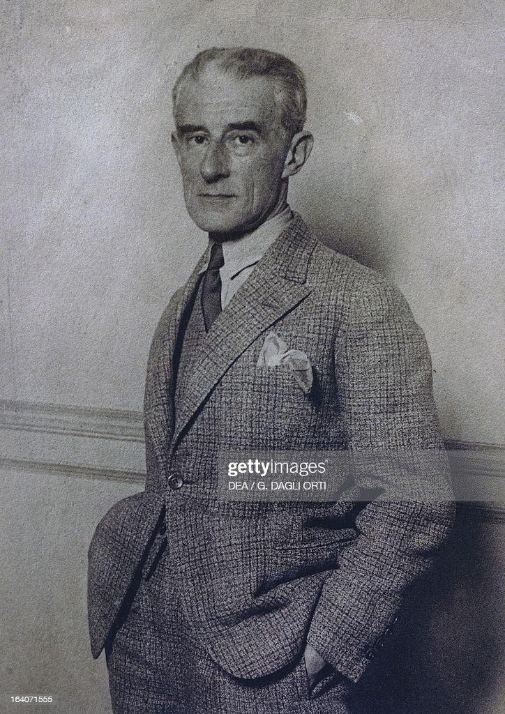 Portrait of Joseph-<a gi-track='captionPersonalityLinkClicked' href=/galleries/search?phrase=Maurice+Ravel&family=editorial&specificpeople=488980 ng-click='$event.stopPropagation()'>Maurice Ravel</a> (Ciboure, 1875-Paris, 1937), French composer and pianist, 1830. Montfort-L'Amaury, Musée <a gi-track='captionPersonalityLinkClicked' href=/galleries/search?phrase=Maurice+Ravel&family=editorial&specificpeople=488980 ng-click='$event.stopPropagation()'>Maurice Ravel</a>