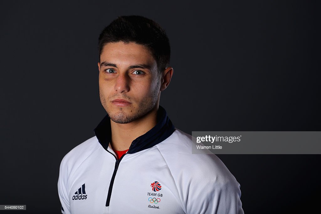 A portrait of Josh Kelly a member of the Great Britain Olympic team during the Team GB Kitting Out ahead of Rio 2016 Olympic Games on July 1, 2016 in Birmingham, England.
